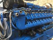 Б/У ГПД MWM TCG 2020 V20,  2000 Квт,  2012 г. в.