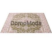 Высокоплотная ковровая дорожка Esfahan 5978A green-ivory