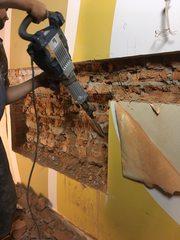 Демонтаж стен,  стяжки,  фундамента...демонтаж старого ремонта