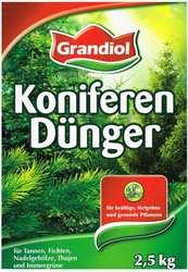 Органическое удобрение Grandiol для хвойных деревьев