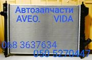 Шевроле Авео радиатор охлаждения кондиционера t200 t250 t255 t300 запч