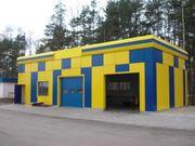 Строительство СТО «под ключ» в Киеве и Киевской области