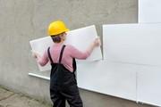 Отделка фасада пенопластом в Киеве и Киевской области