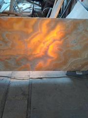 Размер крупноформатных  плит мрамора и оникса (слебов)