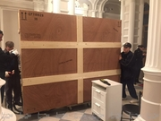 Перевозка картин на выставки в Европу из Украины.