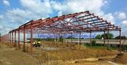 Строительство каркасных ангаров под ключ в Украине.