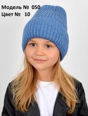 Зимняя вязаная шапка девочке подростку