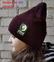 Подростковая весенняя,  осенняя шапка