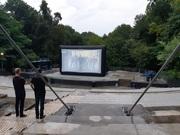 Inflatable screens Проекционные надувные экраны