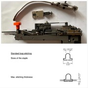 Швейные головки Hohner Universal 48/5 S для евро скобы