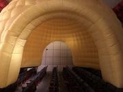 Надувная модульная палатка большой вместимости