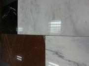 Мрамор прямоугольный. Плитка и слябы разных размеров.