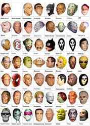 Карнавальные маски оптом.